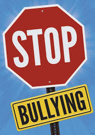 Anti bullying stop sign