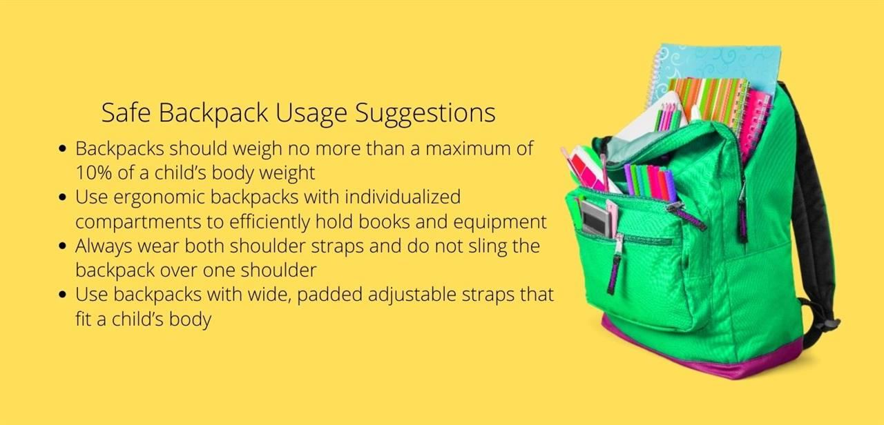 School Health / Backpack Safety and Tips
