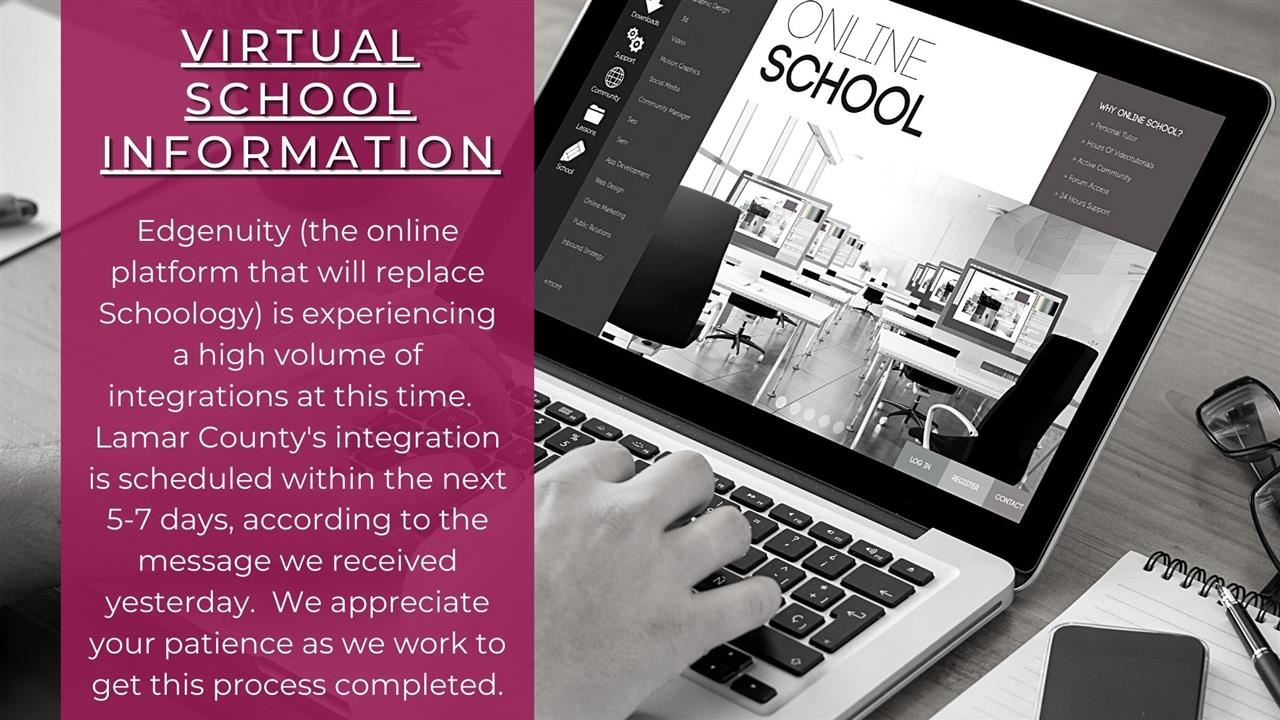 Virtual School Information